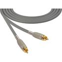 Sescom MSC10RRGY Audio Cable Mogami Neglex Quad RCA Male to RCA Male Gray - 10 Foot
