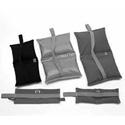 Matthews 299553E 25lb. Empty Sand Bag / Weight Bag Cordura Black