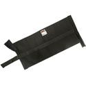Matthews 299559E 15lb Cordura Black Sandbag - Empty