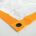 Matthews 319544 Overhead/Butterfly Fabric - White Artificial Silk - 20x20 Foot