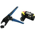 Photo of Markertek Canare Crimp Tool Kit for: LV-61S - L-4CFB - V-4CFB - 1505A