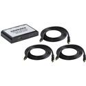 Ocean Matrix OMX-HDMI-1X2-4K2 4K UHD 1x2 HDMI 2.0 Splitter/Distribution Amplifier Bundle with 3x 6ft HDMI 2.0 Cables