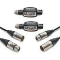 Sescom XLR Audio Bundle with 2 25ft SC25XXJ XLR Cables and 2 IL-19 XLR Inline Hum Eliminators