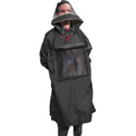 ShooterSlicker POSL Producer Poncho-Slim line Poncho with Sleeves and Hood with a View