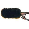 WindTech MM-7 Mic Muff Shotgun Microphone Windshield Fitted Fur Windscreen Cover