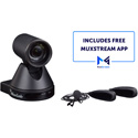 MuxLab 100521 MuxStream H.264/265 AV over IP Full HD Live Streaming Solution with Camera / Lav Mic System & Control App