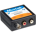 MuxLab 500001 Stereo Audio (RCA) with Video (BNC) Balun