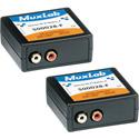 MuxLab 500028-F-2PK Stereo Hi-Fi Balun - 2 Pack