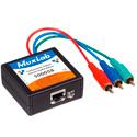 MuxLab 500058 VideoEase Component Video/Stereo Audio Balun