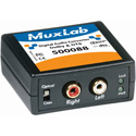 MuxLab 500088 Digital Audio 5.1-Channel & DTS Converter