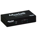 Muxlab 500425 4K60 Ultra HD HDMI 1x2 Splitter