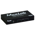 Muxlab 500426 4K60 Ultra HD HDMI 1x4 Splitter