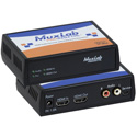 MuxLab 500439 HDMI Audio Extractor with Dolby & DTS Downmixer