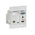 Muxlab 500455-TX HDMI - VGA/Audio Wall-Plate Transmitter
