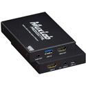 Muxlab 500467 HDMI 4K to USB3.0 Video Capture & Stream Converter with Audio