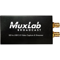 Muxlab 500705 SDI to USB3.0 Video Capture & Stream with Audio In
