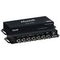 Muxlab 500718 12G-SDI 1x6 Splitter 4K60