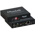 Muxlab 500762-TX 1080p HDMI to H.264/H.265 over IP Transmitter with PoE