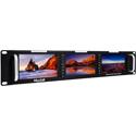 MuxLab 500840 HDMI / 3G-SDI Triple LCD Display