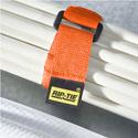 Rip-Tie CinchStrap 1x12in 10-pack Orange