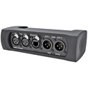 Neutrik NA2-IO-DLINE Bi-Directional DANTE Audio Interface With Balanced XLR and Ethernet Connections
