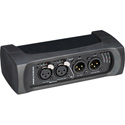 Neutrik NA2-IO-DPRO Bi-Directional Dante Audio Interface/Breakout Box 2-In 2-Out