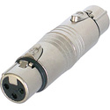 Neutrik NA3F5F 3 Pole XLR-F 5 Pole XLR-F Gender Conversion Adapter