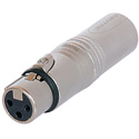 Neutrik NA3FM 3 pole XLR Male - 3 pole XLR Female Wired Extension Adapter