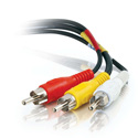 Composite Video & Stereo Audio Cable - 12 Foot