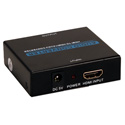 HDMI Audio Extractor with HDMI Pass Through Port
