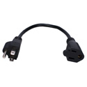 OutletSaver AC Power Splitter Adapter 10 Inches - 2 Pack