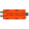 Multidyne NBX-2TX-3G-LC 3G/HD/SD-SDI Dual Fiber Optic Transmitter with LC Connectors - up to 6.2 Miles/10km