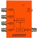 Multidyne NBX-DA-1X4-12G 12G-SDI 1x4 Reclocking Distribution Amplifier