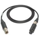 Sescom NC3FM-XLR-3 Microphone Cable Canare Star-Quad Neutrik 3-Pin Unisex XLR to 3-Pin Unisex XLR - 3 Foot