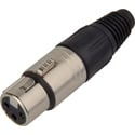 Neutrik NC3FX Female 3-Pin XLR Connector - Nickel/Silver