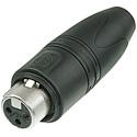 Neutrik NC3FXX-HD-D 3 Pole Female XLR Cable Connector Heavy Duty IP65 - 25 Pack