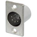 Neutrik NC5MP 5-Pin XLR Male Panel Mount Connector