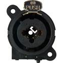 Neutrik NCJ9FI-V Combo 3-Pin XLRF/1/4in w- Switching (Normalling) PCB-V Mount