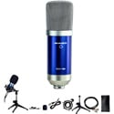 Nady SCM-700 8-piece Condenser Microphone Recording Kit - Podcasting / Voiceover / Online Videos