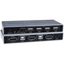 NTI KEEMUX-DPUSB-2 8K DisplayPort USB KVM Switch - 2-Port