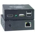 NTI ST-C6USBH-300 HDMI USB KVM Extender Via One CATx to 300 Feet