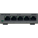 Netgear GS305-300PAS SOHO Ethernet Switch - 5 Ports - 2 Layer Supported - Twisted Pair - Unmanaged Switch