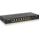 NETGEAR GS310TP-100NAS S350 8-Port Gigabit PoEplus Smart Managed Pro Switch - 2 SFP (GS310TP)