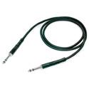 Neutrik NKTT-12BL Patch Cable with NP3TT-1 Plugs - 120 cm  Black/Nickel