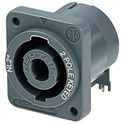 Neutirk NL2MD-H Male speakON 2 pole receptacle-Horizontal PC Mount