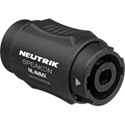 Neutrik NL4MMX Lockable 4 Pole speakON Male to 4 Pole speakON Male Coupler Adapter