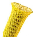 Techflex NSN0.63 5/8 Inch Non-Skid Expandable Sleeving Neon Yellow 100 Ft.