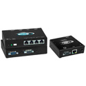 NTI VOPEX-C5VA-4C VGA Splitter/Extender with Audio via CATx to 600 Feet -  8-Port