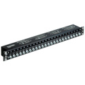 Rean NYS-SPP-L1-USA 48 Point TRS Balanced Patchbay