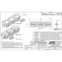 OCC 6112DSC50G 10G SC Adapter Plates - MultiMode